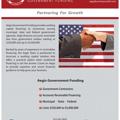 Aegis Government Funding Overview